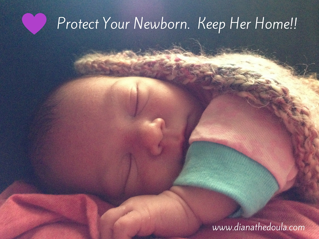how to keep newborn from getting sick from sibling